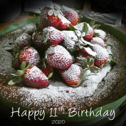 Happy 11th Birthday Cake