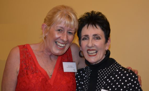 Founder Sally Deane with Robyn Moore