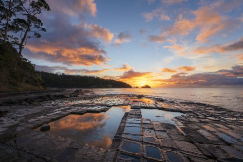 Sunrise at Tesselated Pavement - Luke Tscharke
