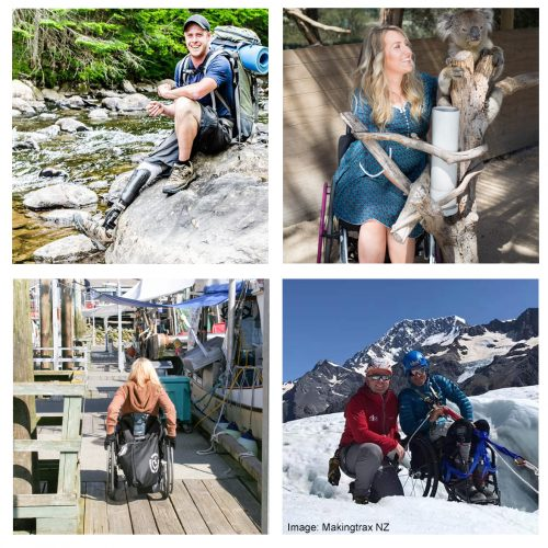 Images demonstrating inclusive tourism